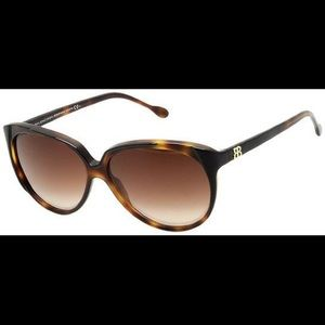 Balenciaga Brown Tortoise Shell Sunglasses